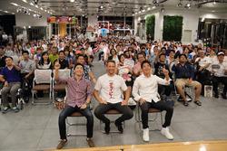 Jenson Button, Hideki Mutoh, Daisuke Nakajima, , Team Mugen