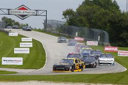 Brendan Gaughan, Richard Childress Racing Chevrolet eJ.J. Yeley, TriStar Motorsports Toyota