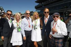 Piero Lardi Ferrari, Ferrari Vice President and Jackie Stewart