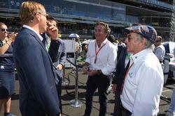 Jackie Stewart, Alejandro Agag, CEO Formula E