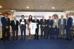 Fernando Alonso anggota kehormatan Real Madrid