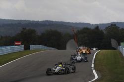 Spencer Pigot, Ed Carpenter Racing Chevrolet, Max Chilton, Chip Ganassi Racing Honda, Ryan Hunter-Reay, Andretti Autosport Honda