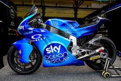 La moto di Francesco Bagnaia, Sky Racing Team VR46 con la livrea
