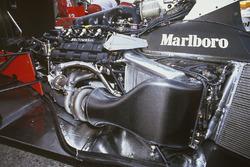 Турбодвигун Honda RA168E V6 на шасі McLaren MP4/4