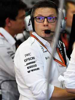 Peter Bonnington, Mercedes AMG F1 Race Engineer