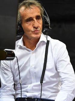 Alain Prost consultor de Renault