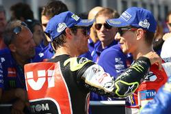 Cal Crutchlow, Team LCR Honda, y Jorge Lorenzo, Ducati Team
