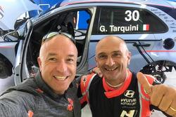 Tom Coronel, test Hyundai settembre