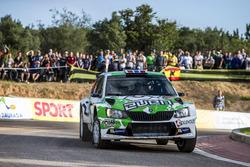 Оле-Кристиан Вайби и Стиг Руне, Škoda Fabia R5, Printsport