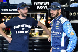Martin Truex Jr., Furniture Row Racing Toyota and Cole Pearn