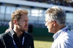 Sebastian Vettel en Dr. Mario Theissen