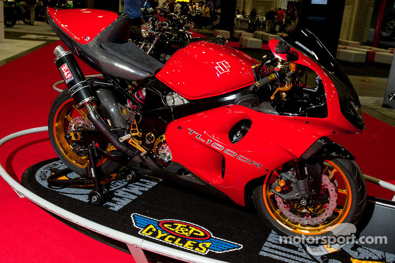 Anrres Gutierrez 2000 Suzuki TL1000R 1000cc Vtwin at International Motorcycle Show