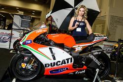 Nicky Hayden's #69 Ducati Moto GP V4 1000cc