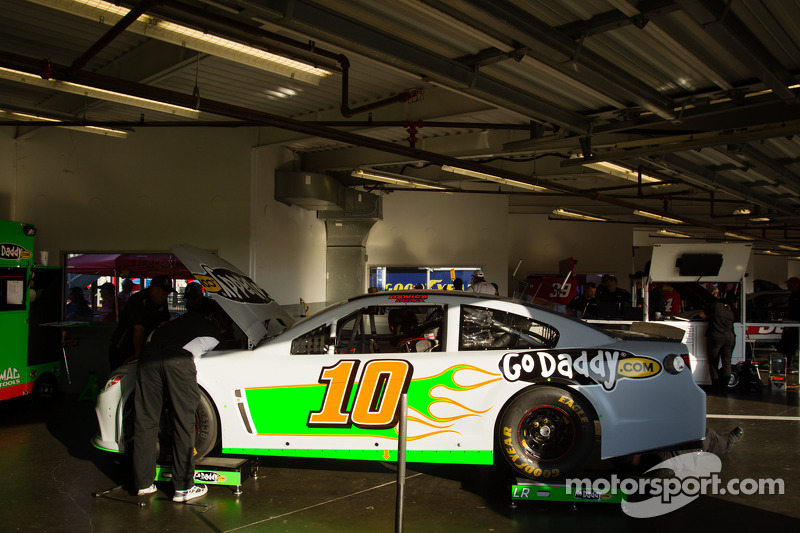 De auto van Danica Patrick, Stewart Haas Racing Chevrolet
