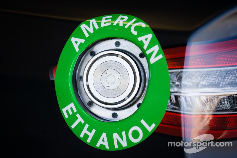 De auto van Juan Pablo Montoya, Earnhardt Ganassi Racing Chevrolet, detail