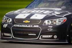 Jimmie Johnson, Hendrick Motorsports Chevrolet, front end detail