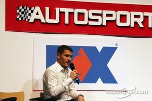 Matthew Wilson, Rally Driver on the Autosport Stage