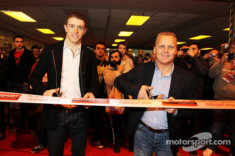 Paul di Resta, Sahara Force India F1 e Johnny Herbert, open AutoSport International