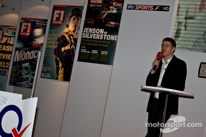 Пол ди Реста. Международная автоспортивная выставка, Бирмингем, воскресенье.