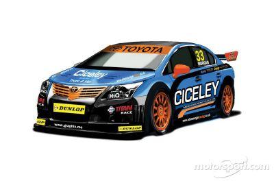 Ciceley Racing onthult nieuwe Toyota