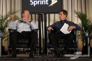 David Reynolds and Darrell Waltrip