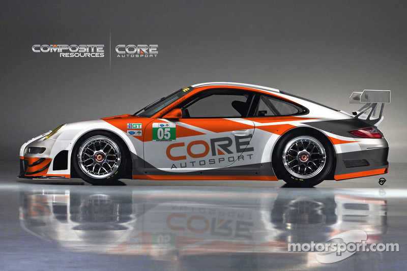The CORE autosport Porsche 911 GT3 R