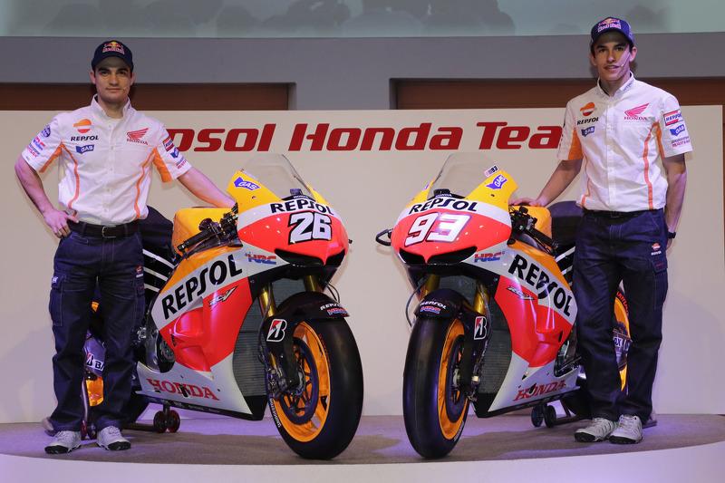 2013 - він стає пілотом Repsol Honda