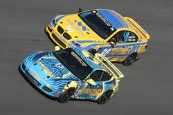 #96 Turner Motorsport BMW M3 Coupe: Bill Auberlen, Paul Dalla Lana and #13 Rum Bum Racing Porsche 997: Matt Plumb, Nick Longhi