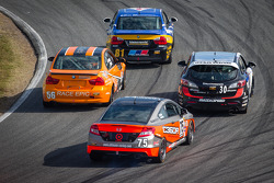 #81 BimmerWorld Racing BMW 328i: Tyler Cooke, Gregory Liefooghe, #56 RACE EPIC/ Murillo Racing BMW 328i: Jesse Combs, Jeff Mosing, #30 i-MOTO Mazda Speed 3: Ryan Ellis, Mat Pombo, #75 Compass360 Racing Honda Civic SI: Ryan Eversley, Kyle Gimple