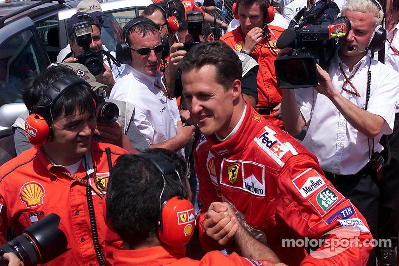 Polesitter Michael Schumacher
