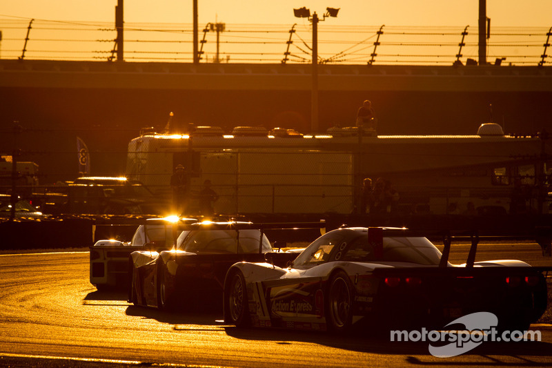 #9 Action Express Racing Corvette DP: Joao Barbosa, Mike Rockenfeller, Burt Frisselle, Christian Fit