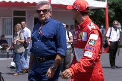 Willy Weber and Michael Schumacher