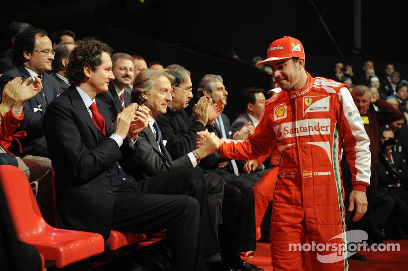 Фернандо Алонсо. Презентация Scuderia Ferrari F138, Презентация.