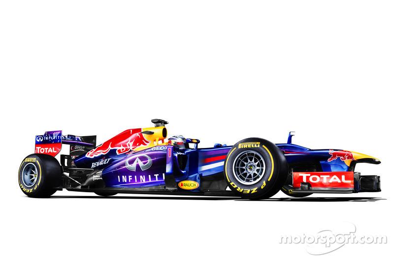 Презентация Red Bull Racing RB9, Студийная фотосессия.