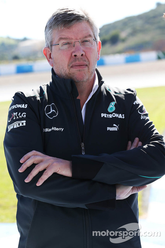 Ross Brawn, Mercedes-Teamchef
