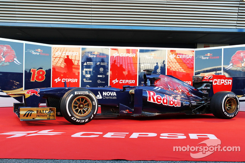 Презентация Toro Rosso STR8, Презентация.