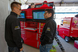 Toni Vilander and Giancarlo Fisichella