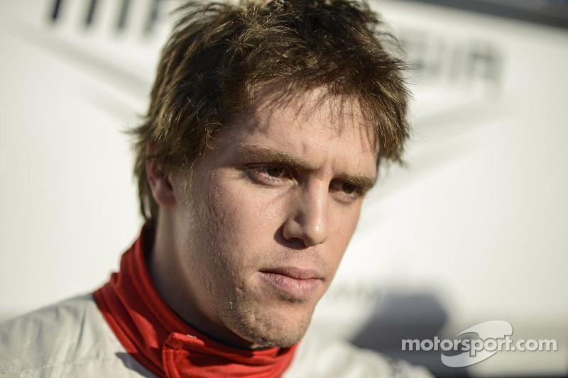 Luiz Razia, Marussia F1 Team with the media