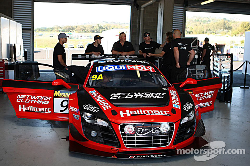 #9 Mark Eddy Audi R8 LMS Ultra: Mark Eddy, Marc Cini, Dean Grant, Christopher Mies