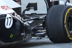 Suspensão traseira do Williams FW34