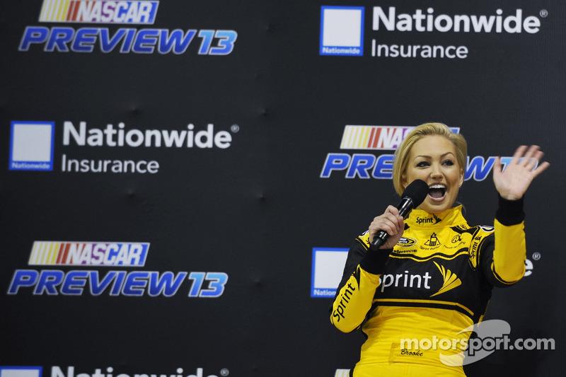 Brooke Werner, de nieuwe Miss Sprint Cup