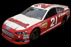 El equipo Wood Brothers revela la combinación de pintura para el Daytona 500