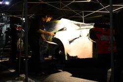 The car of Matt Kenseth, Joe Gibbs Racing Toyota