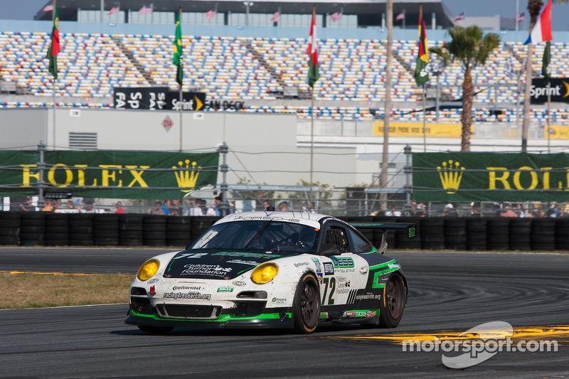 #72 Park Place Motorsports Porsche GT3: Chuck Cole, Grant Phipps, Mike Vess, Mike Skeen, Jean-Francois Dumoulin