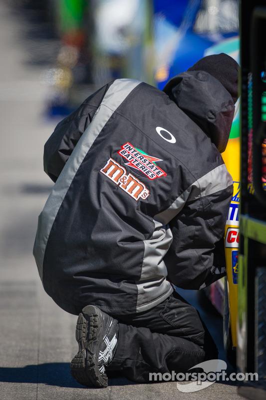 Joe Gibbs, Membro da equipe Racing Toyota no trabalho