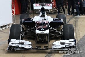 The 2013 Williams FW35