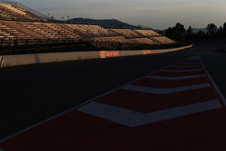 Circuit at sunset