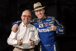 Carl Edwards with Jack Roush