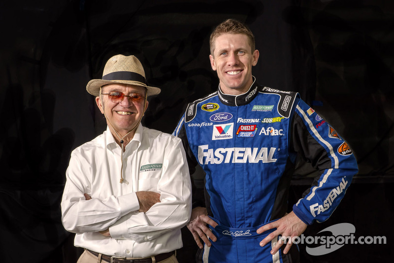 Carl Edwards met Jack Roush