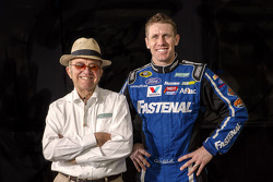 Carl Edwards with Jack Roush